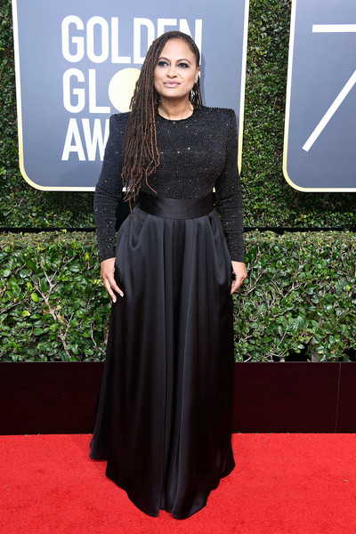 Ava DuVernay attends The 75th Annual Golden Globe Awards at The Beverly Hilton Hotel on January 7, 2018 in Beverly Hills, California.