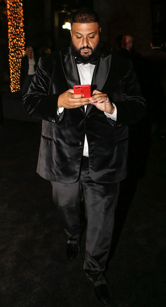 DJ Khaled attends Sean 'Diddy' Combs Hosts CIROC The New Year 2018 Powered By Deleon Tequila at Star Island on December 31, 2017 in Miami, Florida.