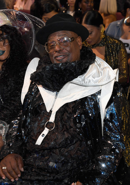 George Clinton at the 2017 Soul Train Awards, presented by BET, at the Orleans Arena on November 5, 2017 in Las Vegas, Nevada.