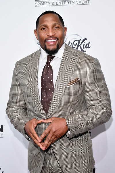 Football player Ray Lewis attends the Sports Illustrated Sportsperson of the Year Ceremony 2016 at Barclays Center of Brooklyn on December 12, 2016 in New York City.
