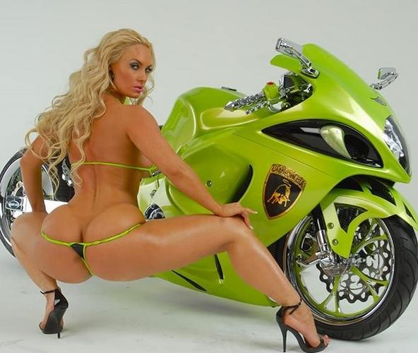 Coco Austin Motorcycle
