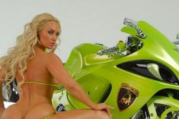 coco austin - motorcycle1