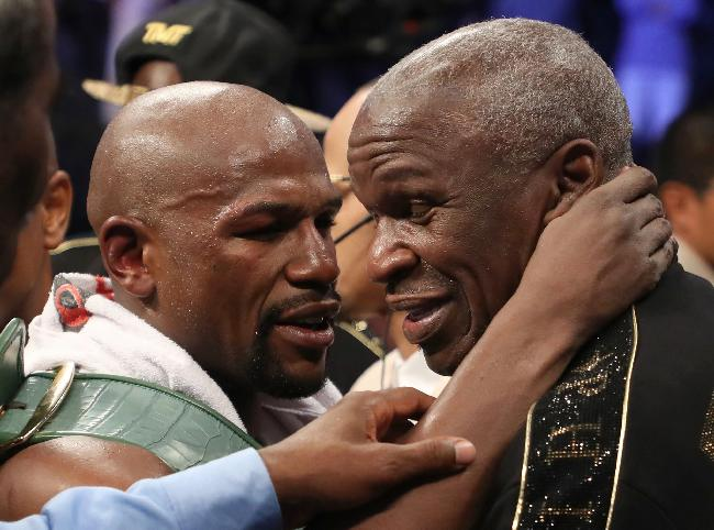 Floyd Mayweather Sr. accused of assaulting a woman after Canelo-GGG fight