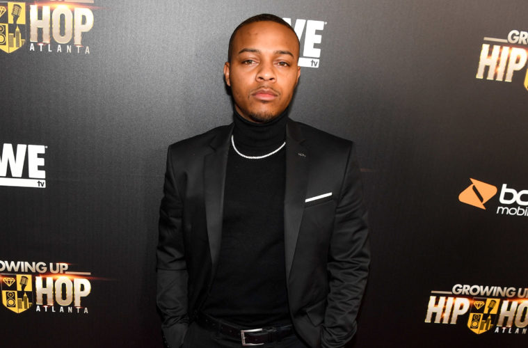 bow wow (at growing up hip hop atl party)