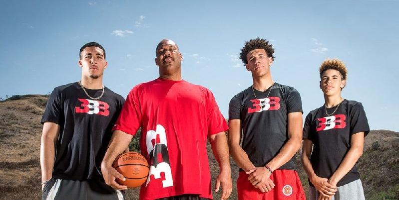 lavar ball & sons & big baller brand