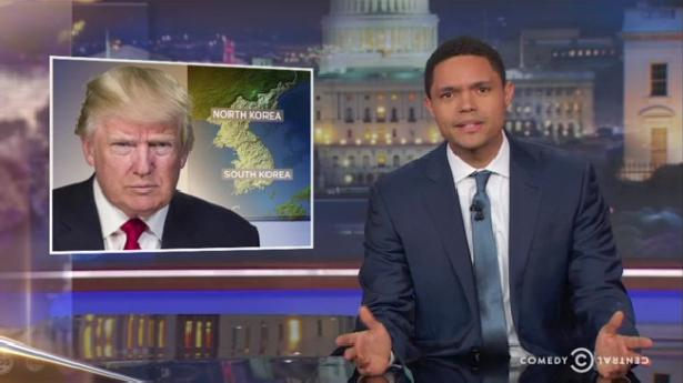 Trevor Noah: 'As someone from South S---hole, I'm offended'