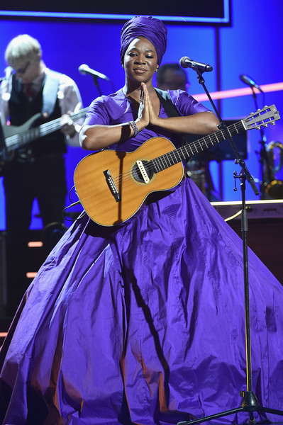 India Arie performs onstage at the Premiere Ceremony during the 60th Annual GRAMMY Awards at Madison Square Garden on January 28, 2018 in New York City.