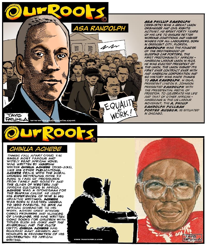 OUR ROOTS - Randolph - Achebe - EURWEB