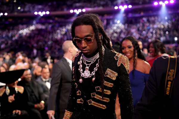 Recording artist Quavo of Migos attends the 60th Annual GRAMMY Awards at Madison Square Garden on January 28, 2018 in New York City.