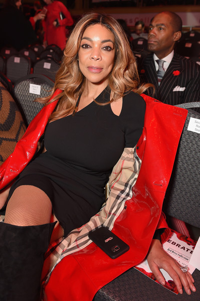 TV personality Wendy Williams poses backstage at the American Heart Association's Go Red For Women Red Dress Collection 2018 presented by Macy's at Hammerstein Ballroom on February 8, 2018 in New York City.