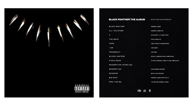 ec7dffd12 Kendrick Lamar-Crafted 'Black Panther' Soundtrack Debuts at No. 1 ...