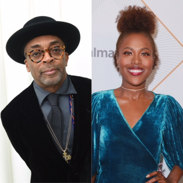 Spike Lee and DeWanda Wise (Getty Images)