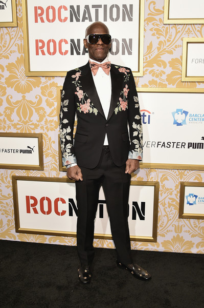 Dapper Dan attends the 2018 Roc Nation Pre-Grammy Brunch at One World Trade Center on January 27, 2018 in New York City.