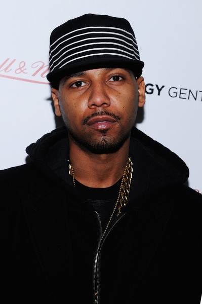 Rapper Juelz Santana attends the Grungy Gentleman presentation during Mercedes-Benz Fashion Week Fall 2015 at Pier 59 Studios on February 15, 2015 in New York City.