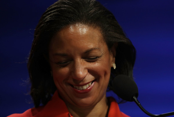 National Security Advisor Susan Rice participates in a discussion October 14, 2016 at the Woodrow Wilson Center in Washington, DC. Rice discussed the Obama administration's approach to Cuba.