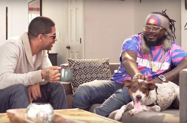 Sixx Mann and T-Pain in PSA for PETA