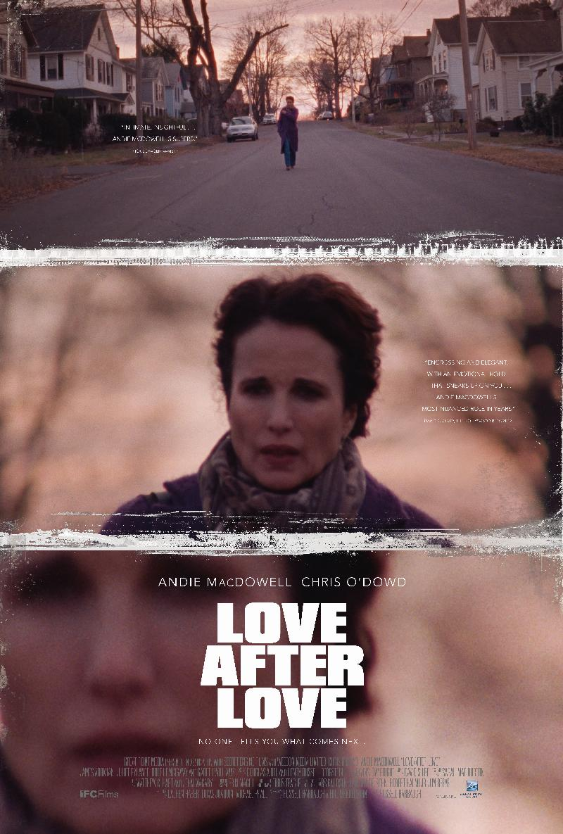 andie mcdowell - love after love poster