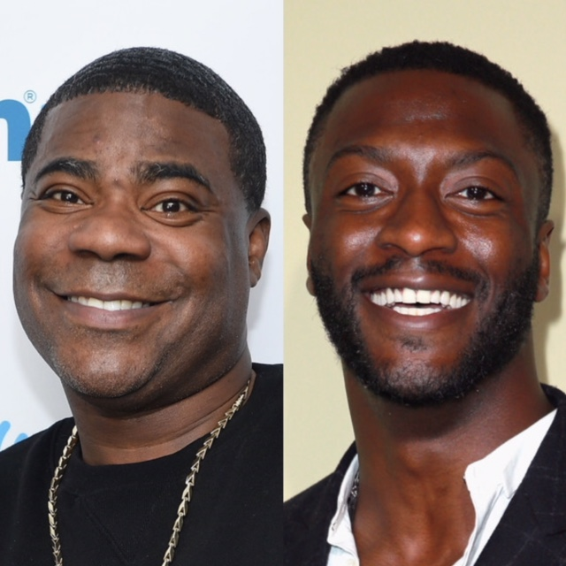 Tracy Morgan (L) and Aldis Hodge (Getty Images)