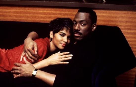 """Halle Berry and Eddie Murphy in """"Boomerang"""" (1992)"""