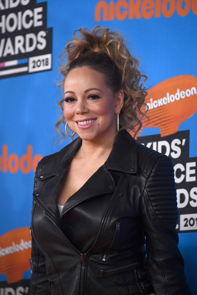 Mariah Carey attends Nickelodeon's 2018 Kids' Choice Awards at The Forum on March 24, 2018 in Inglewood, California.