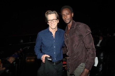 Kevin Bacon and Edi Gathegi attend Lee's Special Screening of PIMP at the Regal Battery Park last night. Photo credit Johnny Nunez.