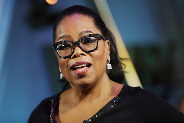 "Oprah Winfrey attends the European premiere of Disney's ""A Wrinkle In Time"" at BFI IMAX on March 13, 2018 in London, England."