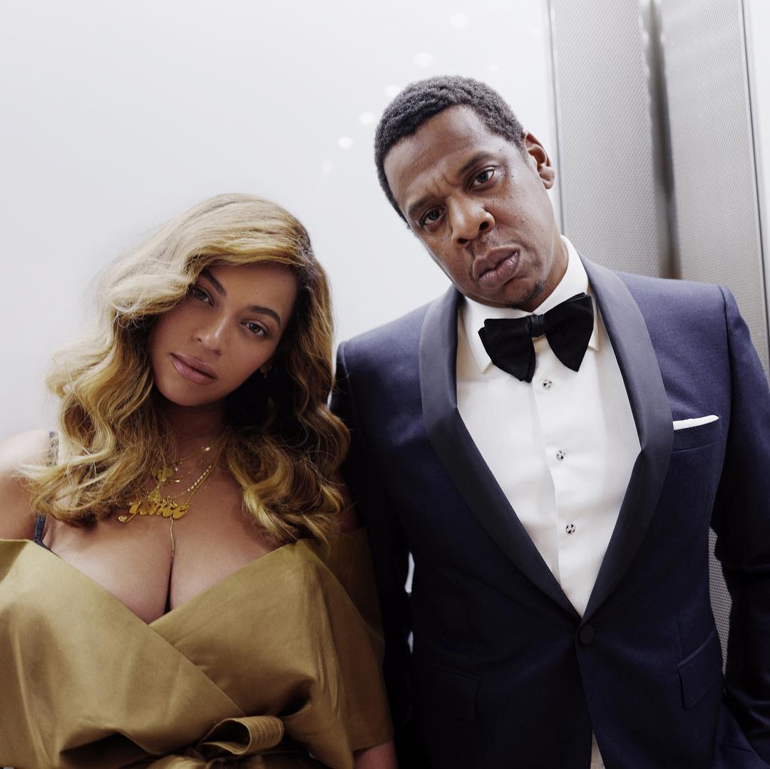 Beyonce and Jay-Z (Instagram)