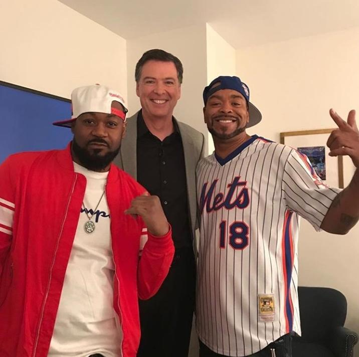 Did the Wu-Tang Clan just hire former Federal Bureau of Investigation  director James Comey?