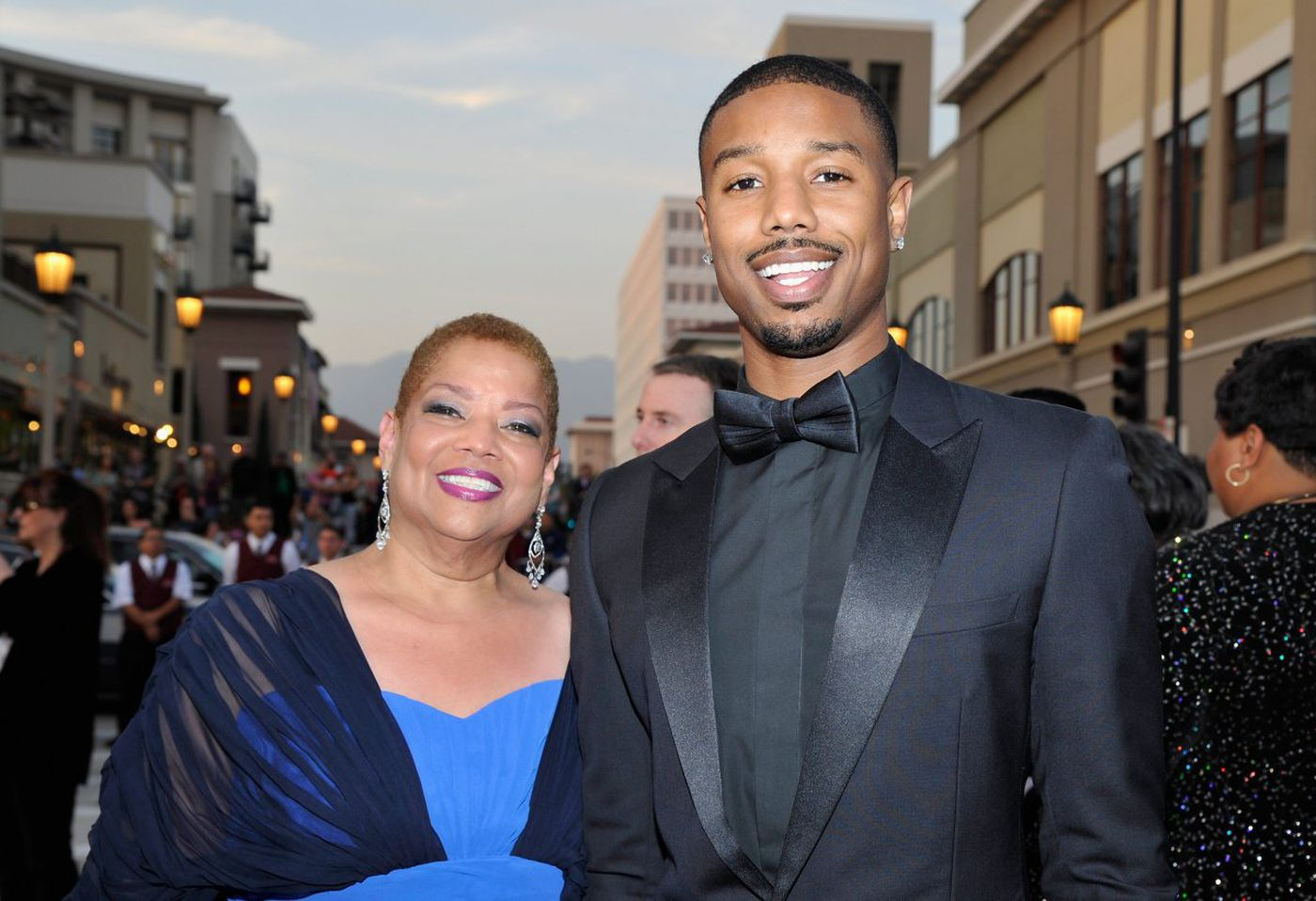 Donna and Michael B. Jordan (Getty Images)
