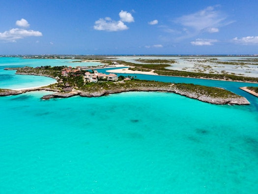Prince's property in Turks & Caicos (COURTESY OF THE PRINCE ESTATE)