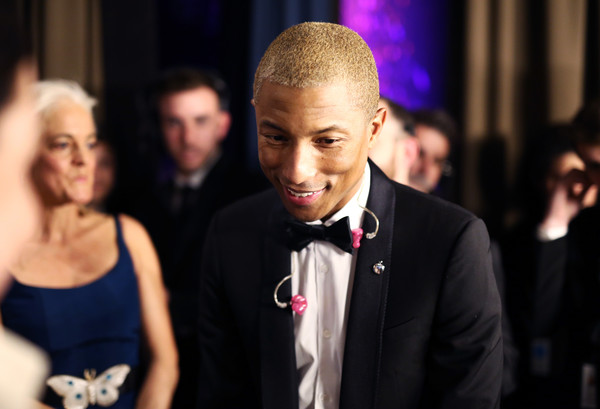 Pharrell Williams attends the 7th Biennial UNICEF Ball on April 14, 2018 in Beverly Hills, California.