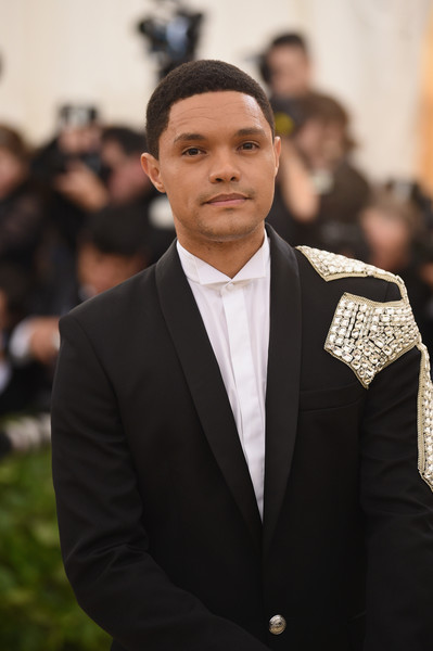 Trevor Noah attends the Heavenly Bodies: Fashion & The Catholic Imagination Costume Institute Gala at The Metropolitan Museum of Art on May 7, 2018 in New York City.
