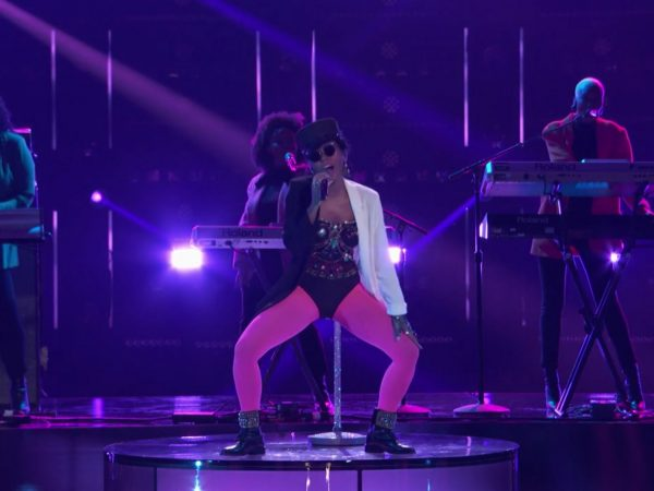 """Janelle Monae on """"The Voice"""" (May 1, 2018) NBC"""