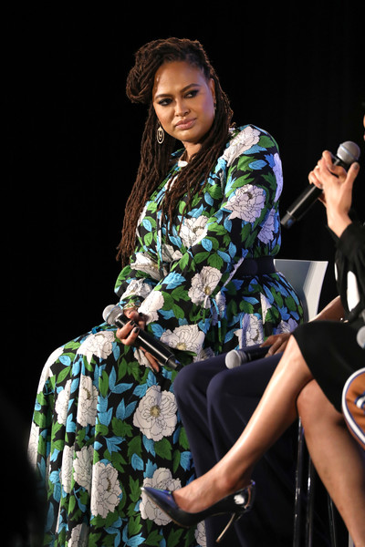 """Director Ava DuVernay of Queen Sugar speaks on """"Ava DuVernay and the Cast of Queen Sugar"""" during Day Two of the Vulture Festival Presented By AT&T at Milk Studios on May 20, 2018 in New York City."""