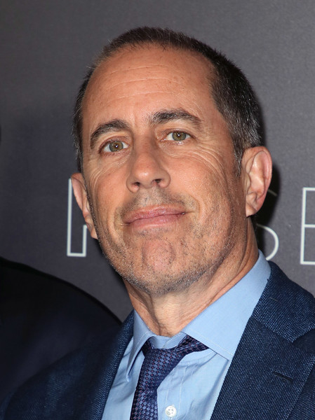 "Comedian Jerry Seinfeld poses at the Netflix #FYSEE ""My Next Guest Needs No Introduction With David Letterman"" FYC Event at Netflix FYSEE at Raleigh Studios on May 7, 2018 in Los Angeles, California."