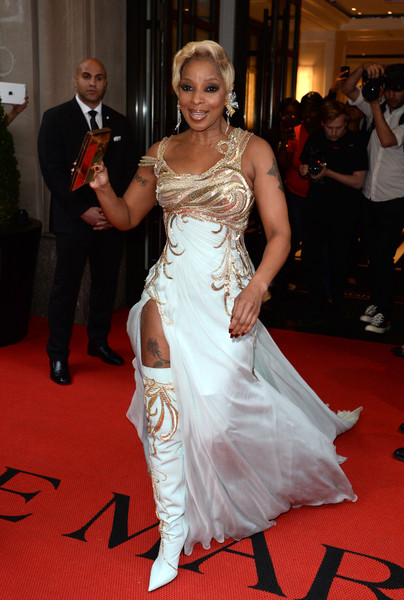 Recording artist Mary J. Blige attends as The Mark Hotel celebrates the 2018 Met Gala at The Mark Hotel on May 7, 2018 in New York City.