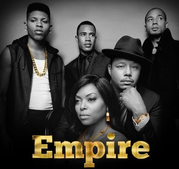 empire cast - poster