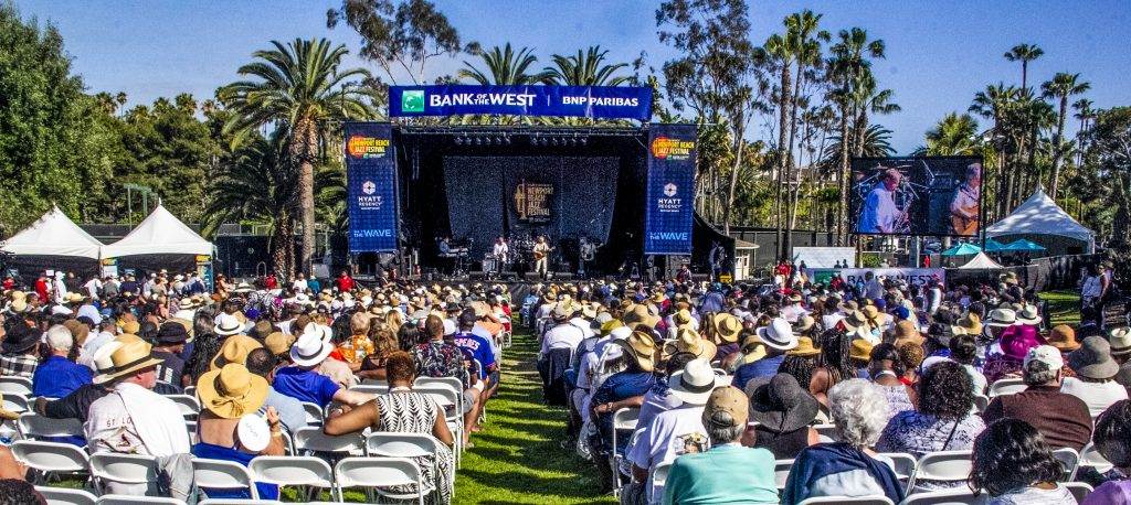 The Commodores Show Out At Newport Beach Jazz Festival Photos
