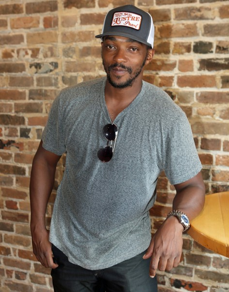Anthony Mackie poses for a photo during the Starz Power Brunch at Cochon on July 8, 2018 in New Orleans, Louisiana.