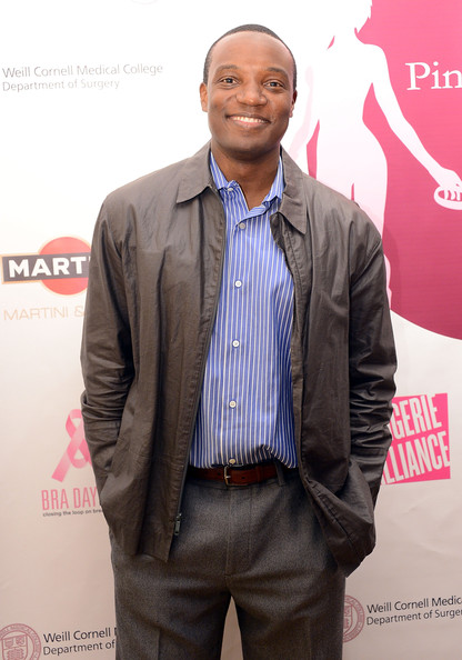 Kwame Jackson attends Pink Chose Me Foundation Presents BRA Day USA 2012 Sponsored By MARTINI on October 17, 2012 in New York City.
