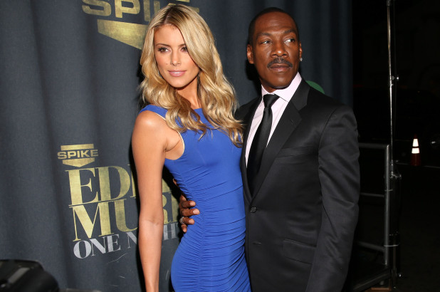 Paige Butcher and Eddie Murphy (Getty Images)
