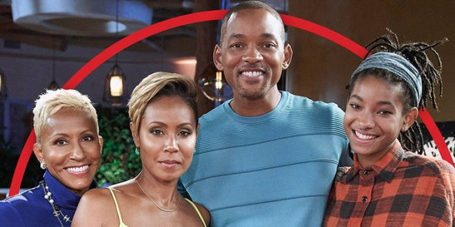 Will Smith with Jada on 'Red Table Talk'