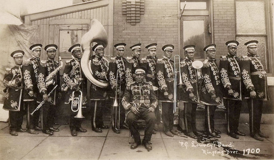 P.G. Lowery and his sideshow band