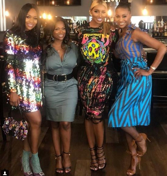 marlo hampton & rhoa cast