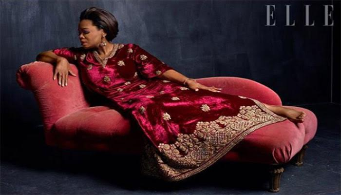 Oprah for Elle India's 22nd anniversary