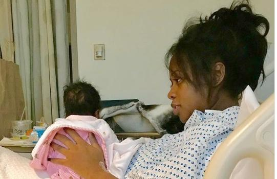 RRemy Ma & baby daughter1