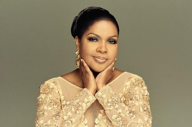 cece winans - embroidered top