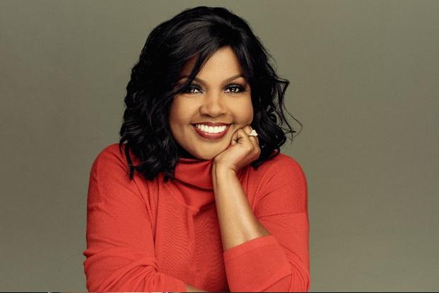 cece winans - red top