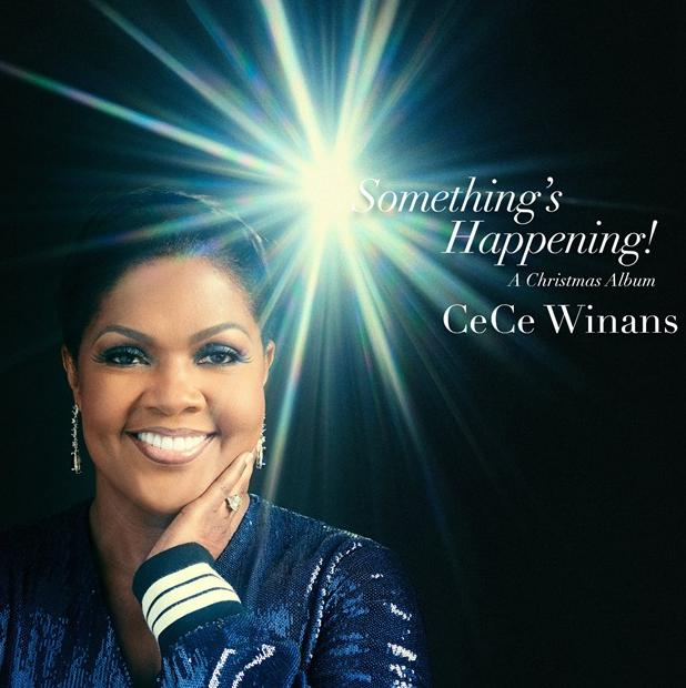 cece winans - something's happening cd cover