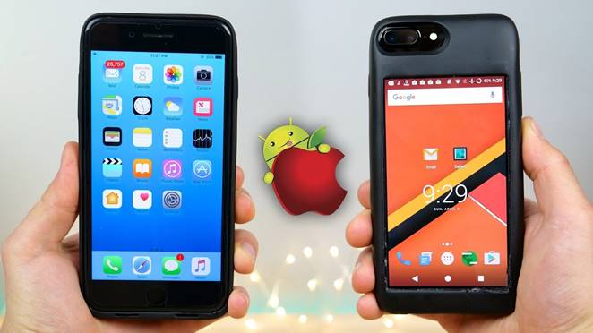 iPhone, Android